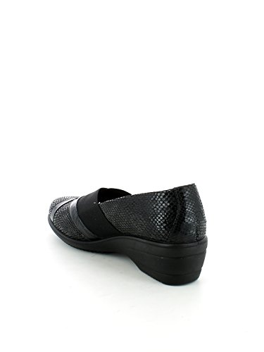 ENVAL SOFT scarpe donna ballerine zeppa 89820/00 Nero