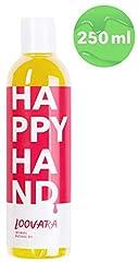 Idea Regalo - Olio Corpo por Massaggi Erotici Stimolante - Lubrificante Intimo Vegan y Neutro-Profumo - Hecho en Alemania - Happyhand por Loovara - 250ml
