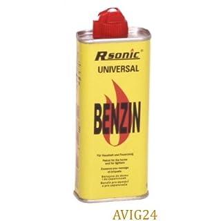 Rsonic ® 125ml Universal Feuerzeug Benzin - Reinigungsbenzin 125 ml Zippo