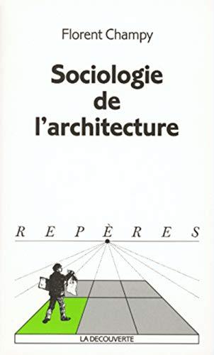 Sociologie de l'architecture