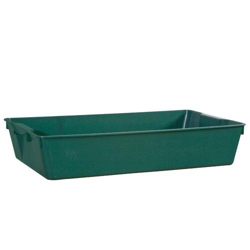 H. G.-Bac de jardinier convient aux aliments 58 x 32 x 11 cm Couleur : Vert
