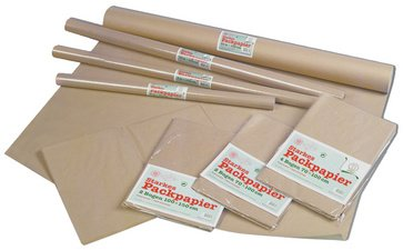 URSUS Packpapier, Bogenware, 700 mm x 1 m, braun VE = 1