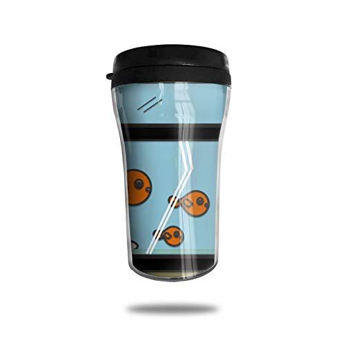 Goldfish InFish Tank Ice Coffee Small Kaffeetasse Carrying Hand Cup Travel Mug Kaffeetasse 8.5 Oz