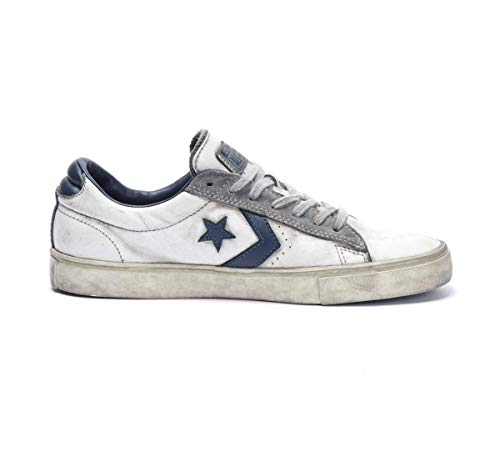 d6fa0398c80 Converse All Star Limited Edition Pro leather vulcanic OX white navy  smoke-42.5