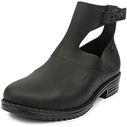 Do Bhai Fashionable Smart Casual Boots for Women (EU41, Black)