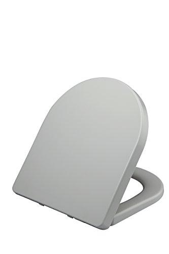 Kangfei Premium Toilet Seat,Soft Close Adjustable Hinge Toilet Cover for Bathroom - Soft-close Seat-cover