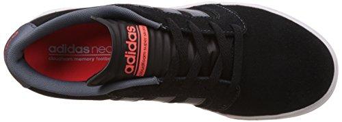 adidas Cloudfoam Super Skate, Scarpe da Ginnastica Uomo Nero (Negbas/Onix/Rojsol)