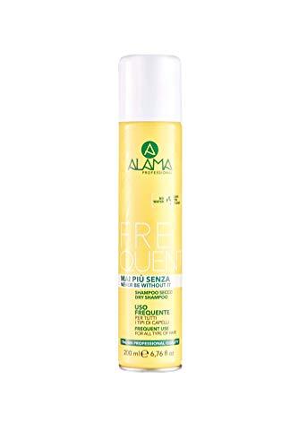 Scheda dettagliata Alama Professional Daily Mai più senza Dry Shampoo - Shampoo a secco con vitamine per tutti i tipi di capelli, 250 g