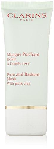 masque purifiant eclat - maschera viso all' argilla rosa 50 ml