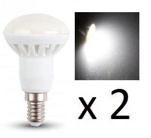 3 Sockel-typ (LED R39Reflektor Leuchtmittel-2Stück-E14Sockel Typ-3W/120Grad Beam/210Ln-Pure Weiß 4500K-nicht dimmbar/230V/20000Stunden Lebensdauer)