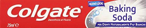 Colgate - Baking Soda, Dentifricio con Bicarbonato di sodio - 75 ml