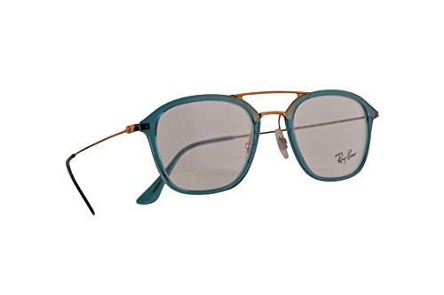 Ray-Ban RX7098 Eyeglasses 50-21-145 Turquoise w/Demo Clear Lens 5632 RB7098 RX 7098 RB 7098