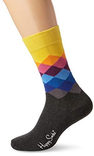 Happy Socks Faded Diamond Sock(Yellow) 41-46