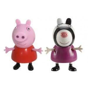Figure Peppa Pig e Zoe Zebra