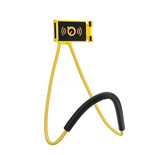 zhang-hongjun,Lazy Bracket Mobile Neck Hanging Bracket für Samsung(Color:GELB)