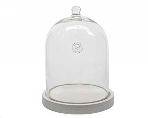 Campana cristal DM.20x 33h C/Base