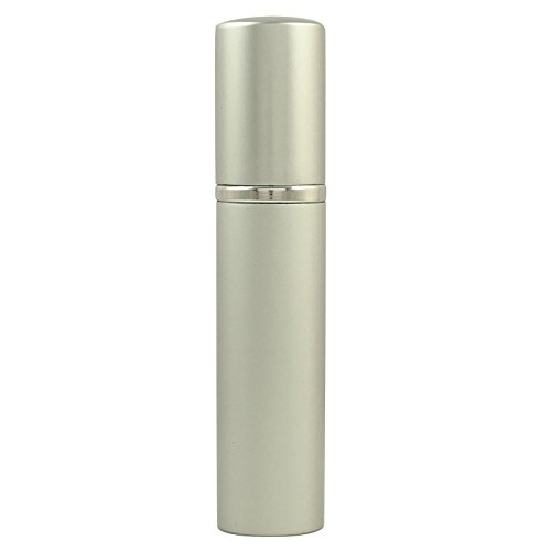 15 Ml D'Argent Vide Verre Clair Parfum Rechargeable Bouteille Spray Atomiseur Pour Voyage Pack Handbag- De 2