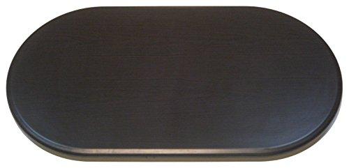 Werzalit Tischplatte, Oval, nussbaum / dunkelbraun, 120 x 65 x 2.2 cm, 51000060T (Ovale Tischplatte)