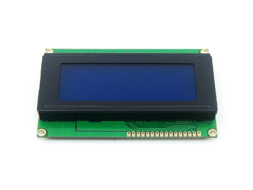 Waveshare LCD2004 (5V Blue Backlight) 20 Characters * 4 Lines 2004 LCD LCM Display Module LCD Screen TN/STN White Character Stn-lcd