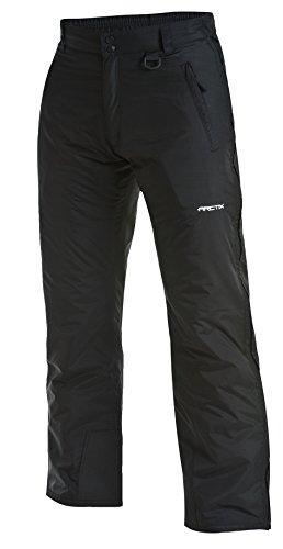 Arctix uomo breakaway zip intera pantaloni, uomo, black