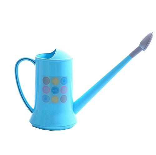 Plastique détachables long bec arrosoir Arrosoir Bleu