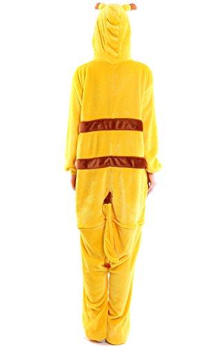 Imagen de dolamen adulto unisexo onesies kigurumi pijamas, mujer hombres traje disfraz animal pyjamas, ropa de dormir halloween cosplay navidad animales de vestuario large 65