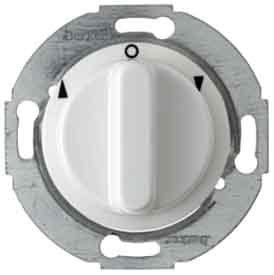 Hager���Pulsante rotativo bipolare con telecomando bianco pile