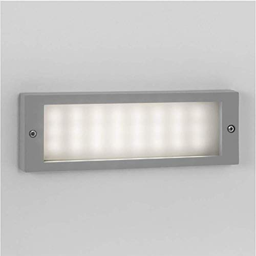 MJZH.AI Modern White Wall Light Astro Brick LED IP54 Exterior Marker