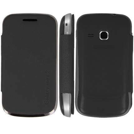 Portafoglio, Flip Cover per Samsung Galaxy Mini 2/S6500, Nero, custodia, libro-custodia, Libro per, libro, con Flip, custodia, guscio, custodia, motivo, numerva, custodia