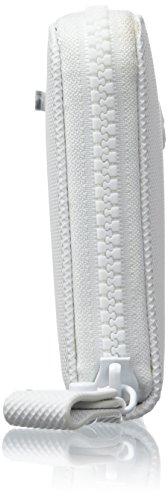 Lacoste NF2048WM, Borsa Organizer Donna, 10.5 x 2 x 19 cm Bright White