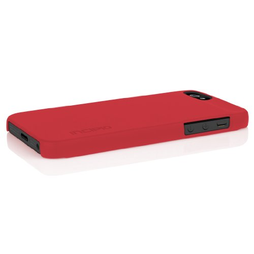 Incipio PH-805 Feather Coque pour iPhone 5  Noir Scarlet Rouge
