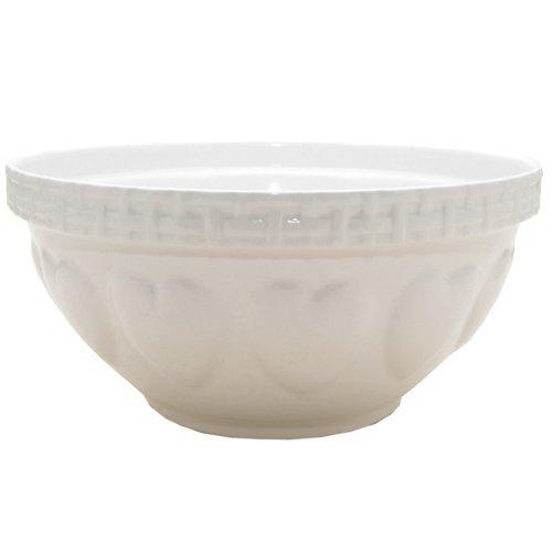 Mason Cash Bol à mélanger S12 en faïence résistant aux écailles, 29 cm, Céramique, crème, 29 x 29 x 14 cm