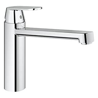GROHE 30193000 Eurosmart Cosmopolitan Kitchen Tap, High Spout, Medium