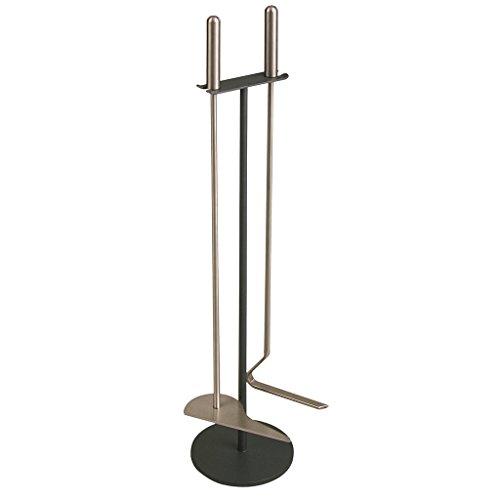 Preisvergleich Produktbild Heibi Kaminbesteck mit 2 Edelstahl-Geräten, 1 Kratzer, 1 Haken
