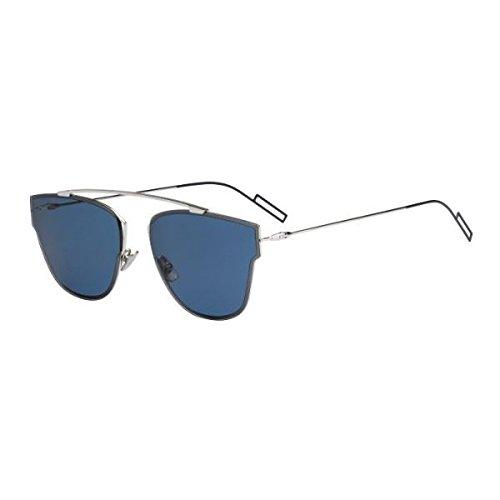 Dior Herren DIOR0204S 72 010 Sonnenbrille, Silber (Palladium/Blue), 57