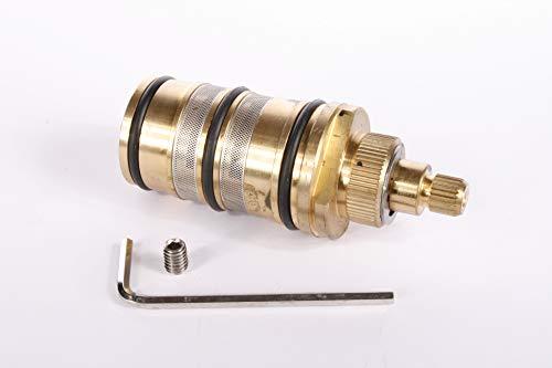 Hudson Reed Thermostatkartusche - Thermostatische Kartusche für die freistehende Wannenarmatur PN322 Badezimmer Zubehör - Ersatzkartusche - Optimale Temperaturregulierung