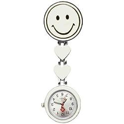 PromiseU Quartz Nurse Doctors Midwives Pocket Fob Watch