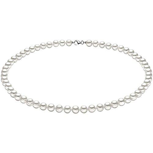 Collana donna gioielli comete perle argento elegante cod. fwq 102 s50