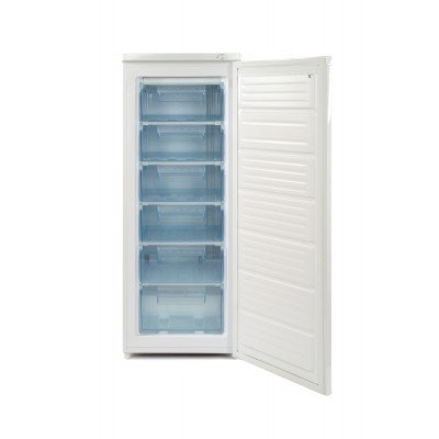 White Knight F170H 55cm Wide 143cm High Upright Freestanding Freezer – White