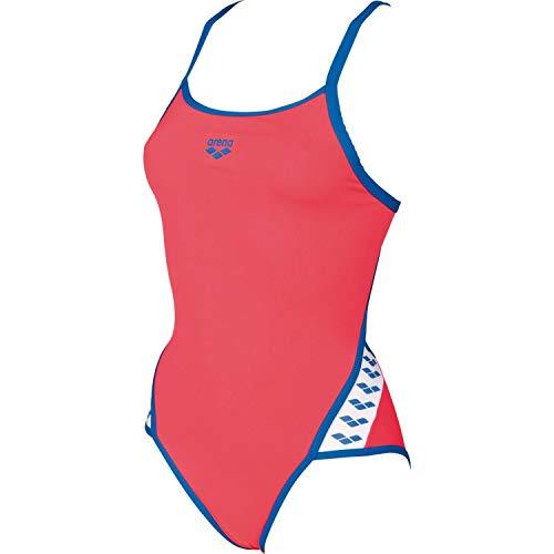 arena W Team, Interior Kostüm für Damen, Damen, 001195, Fluo Rosso/Royal, ()