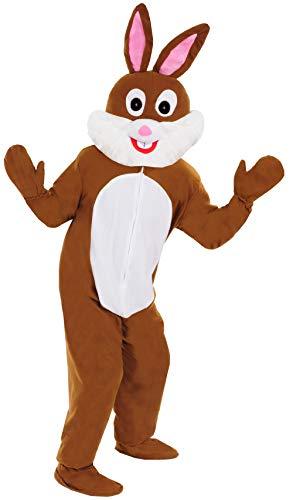 Neu Hase braun Einheitsgrösse L-XL Kostüm für Fasching Karneval Ostern (Personen Drei Für Kostüm)