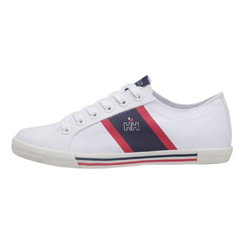 Helly Hansen Berg Viking Low, Sneakers Basses Femme Blanco / Azul (005 White / Navy / Red)