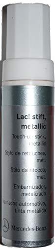 Mercedes Chip Touch-Up Paint Stick Silver Blue Metallic A0009862350