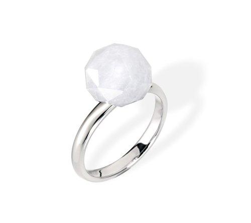 Morellato anello da donna in acciaio inox, argento, de 58 (fr 18)