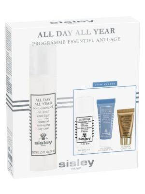 Sisley Phyto Jour All Day All Year Programme Essentiel Anti-Age set 50 ml anti-aging day care + 30 ml eau efficace make-up remover + 10 ml express flower gel + 5 ml supreme anti-aging night - 30 Ml Eau