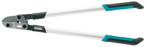 GARDENA Comfort Astschere 760 A: Amboss-Baumschere für hartes und trockenes Holz bis 42 mm Durchmesser, 76 cm Länge, mit 40 Prozent Kraftverstärkung, auswechselbarer Amboss (8777-20)