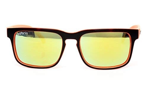 Catania Occhiali Sonnenbrille Polarisiert - Vintage Stil - inkl. Catania Brillenetui (Polarisierte Sonnenbrillen)