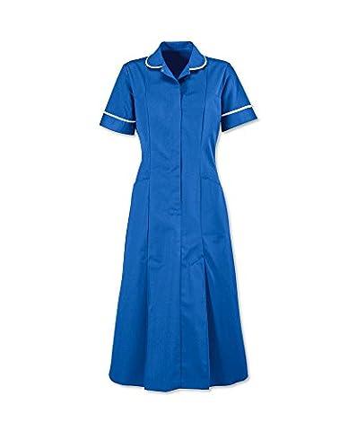 Nurses Dress Healthcare Nurse Uniform Medic Dental Therapist Step in Dress Tunic size 8 to 26 (20, HOSPITAL