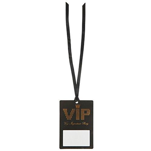 NEU Namensschild VIP-Pass am Band, 7x10 cm, 10 Stk