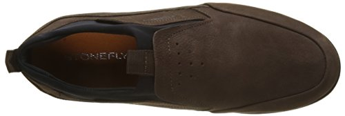 Marron rovere 1 Homme Marrone Chaussons Stonefly Nubuk Spazio Up Ew01xYqBT